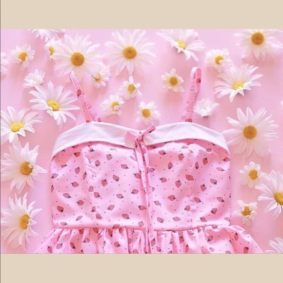 Strawberry Kawaii Dress